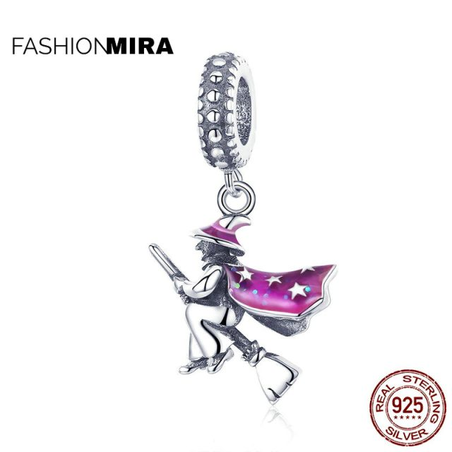 Magic Witch Pendant Charms fit for Women Bracelets