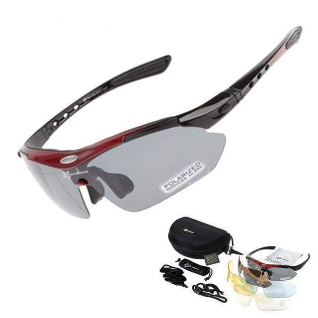 MULTI LENS Polarized Cycling SunGlasses