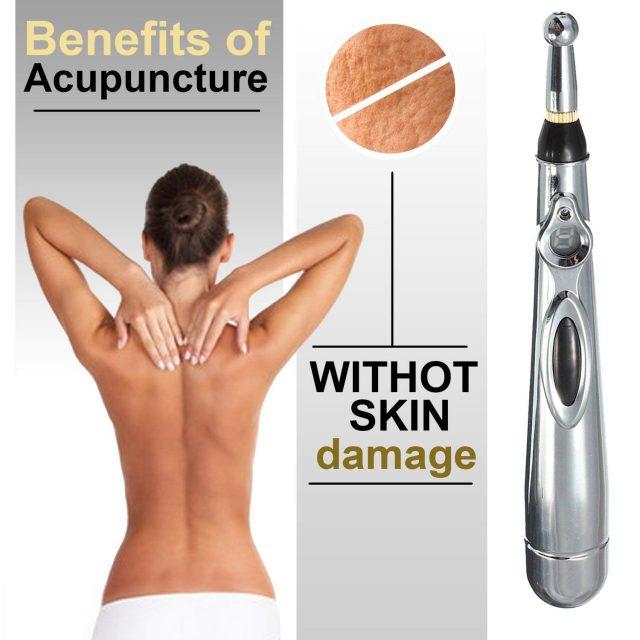 Electronic Laser Acupuncture Pen