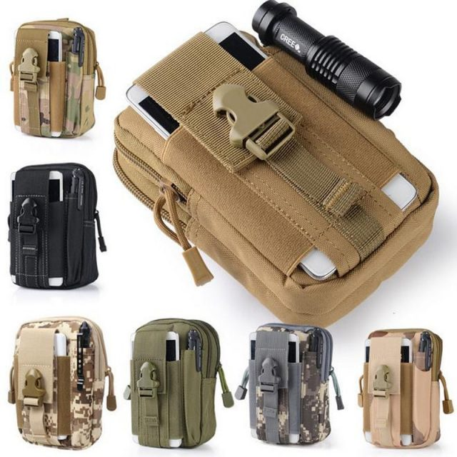 Tactical Waist Pack Belt Bag Camping Hiking Outdoor