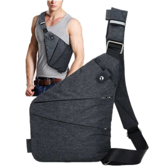 Anti Theft Security Strap Digital Storage Chest Bags