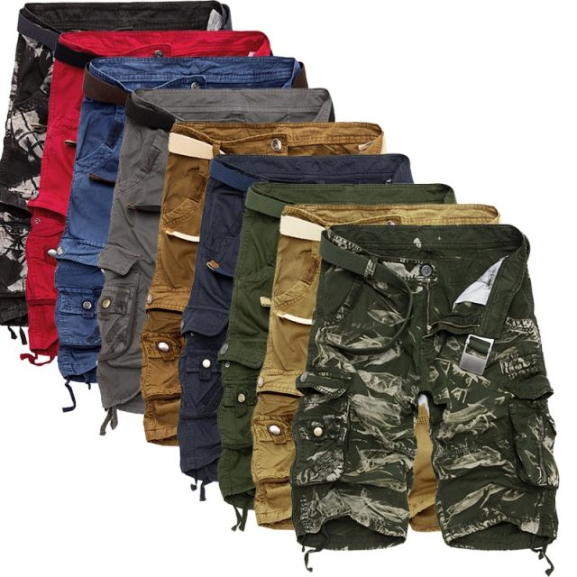 Cool Camouflage Cargo Men Shorts