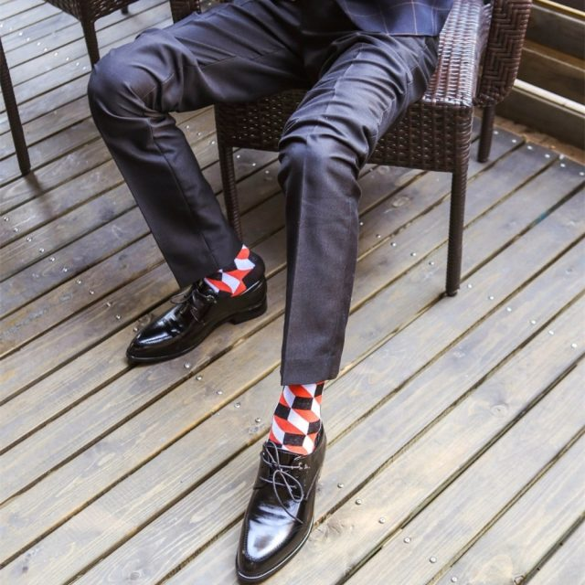 Business Party Casual Men Cotton Socks
