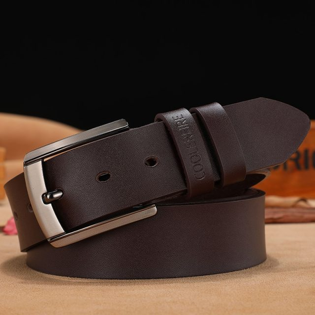 luxury designer quality leather belt
