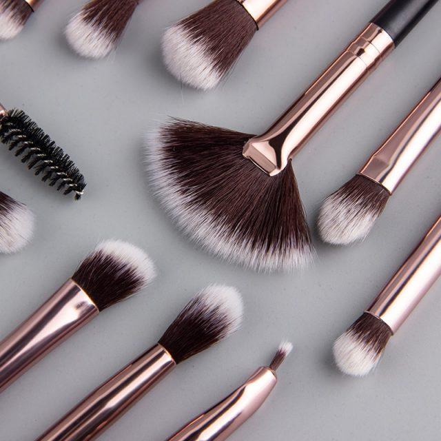 Mira's Makeup Brushes Set 3-12pcs/lot Eye Shadow Blending Eyeliner Eyelash Eyebrow Make up Brushes  Professional Eyeshadow Brush