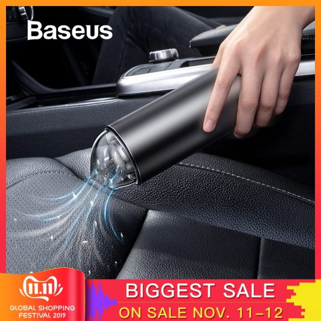 Auto Vacuum Cleaner Robot for Car Interior & Home