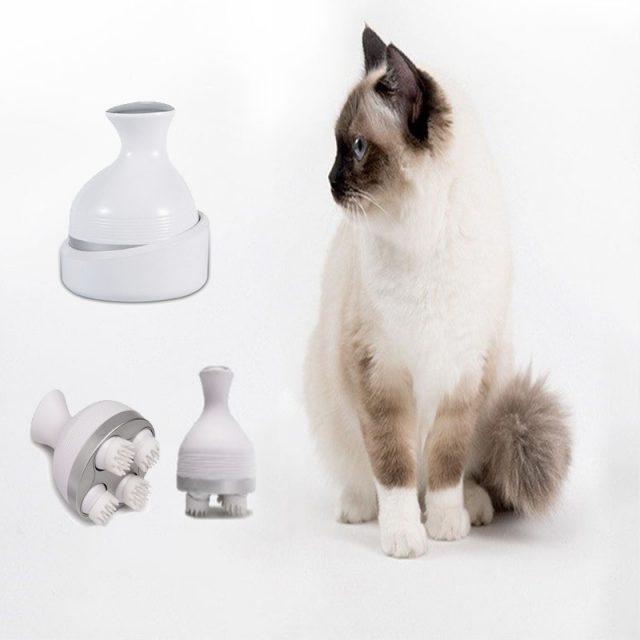 3D Scalp Cat Massager