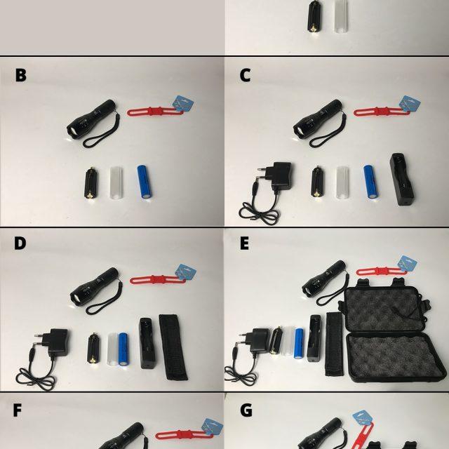 LED Outdoor Survival Pocket Flashlight