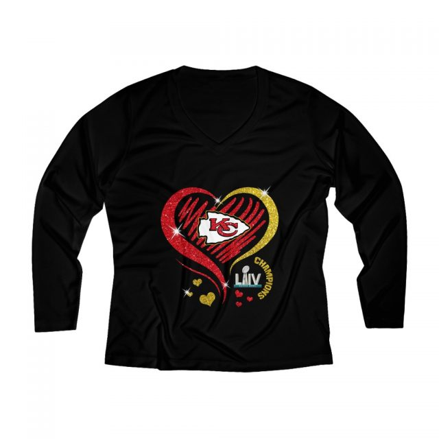 Love Kansas City Chiefs Women's Long Sleeve Performance Tee
