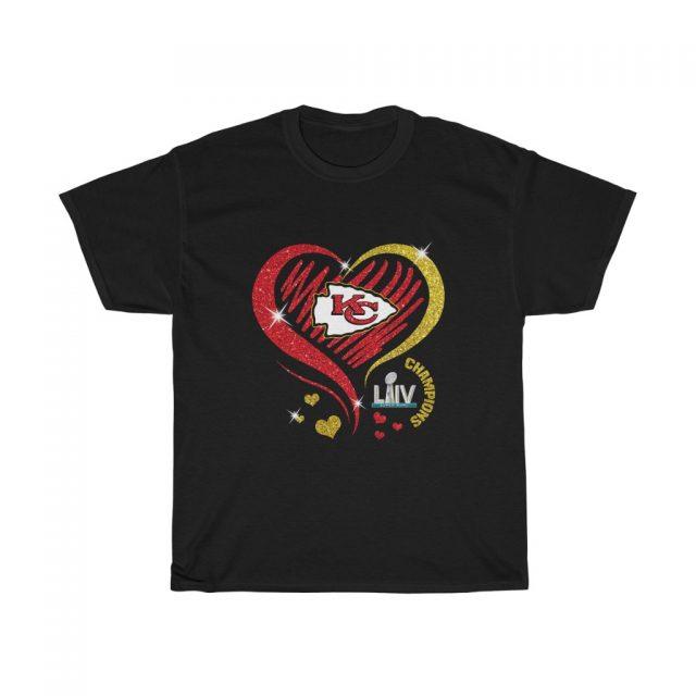 Love Chiefs Kansas City Chiefs Woman T Shirt