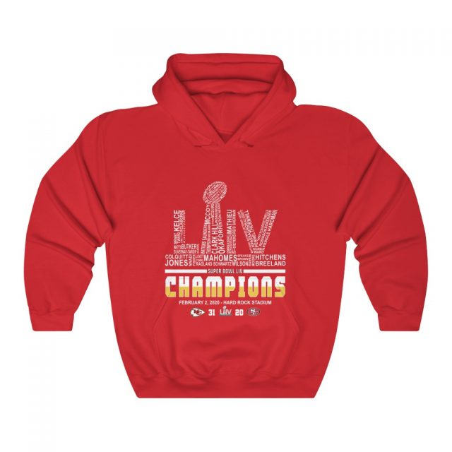 Kansas City Chiefs Unisex Heavy Blend™ Hooded Sweatshirt