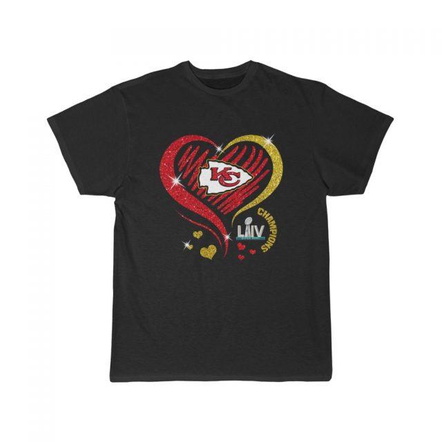 Love Chiefs Kansas City Chiefs Men T Shirt