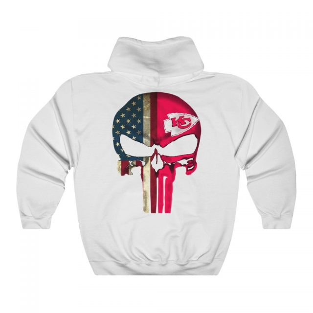 Kansas City Chiefs Punisher Heavy Blend™ Crewneck Sweatshirt